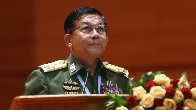 Min Aung Hlaing pemimpin militer Myanmar