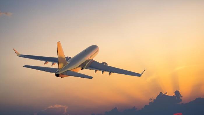 Ilustrasi penerbangan.