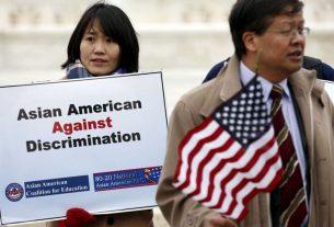 Aksi damain warga keturunan Asia di Amerika Serikat