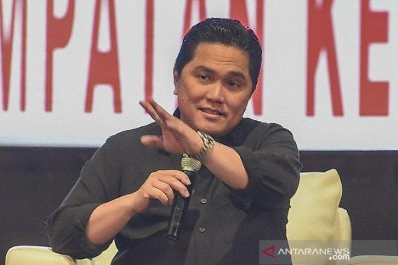 Menteri BUMN Erick Thohir. ANTARA FOTO