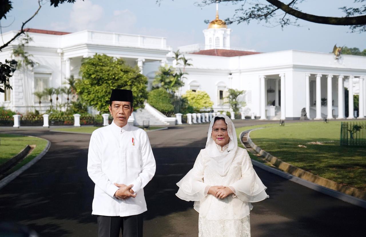 Presiden RI dan Ibu Negara Iriana Jokowi.