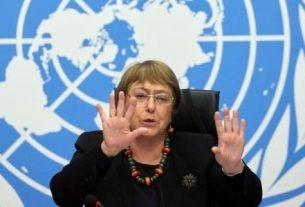 Komisaris Tinggi PBB urusan HAM, Michelle Bachelet