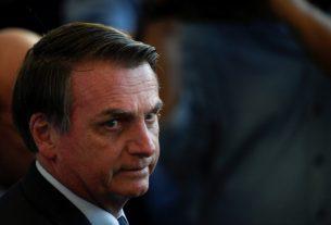 Presiden Brazil Jair Bolsonaro. Foto : AFP.