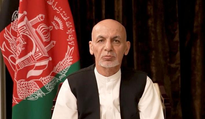 Mantan Presiden Afghanistan Ashraf Ghani